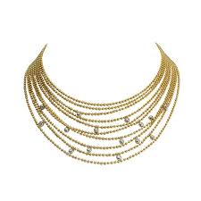 multi chain necklace images 35 best multi strand images 18k gold gold chains jpg