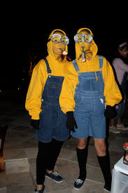 halloween costume minions from the movie despicable me via the