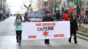 cm marshals the mcdonald s thanksgiving parade in chicago