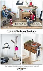 59 Best Barbie Homes Ideas by Upcycled Barbie Doll House Revealfunky Junk Interiors