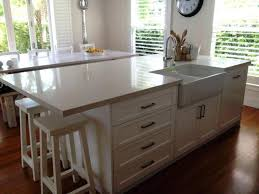 size of kitchen island with seating kitchen island seating 2 sides best with designs three dimensions