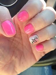 fun spring summer shellac nails nailed it pinterest summer