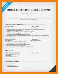 concierge resume concierge resume template 3 free pdf documents