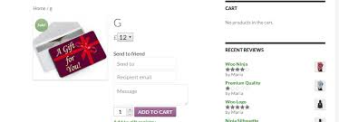 5 gift card woocommerce gift card pro by magenest codecanyon