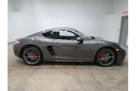 porsche cayman s horsepower agate grey metallic 2017 porsche cayman s for sale amazingreveal
