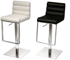 Cream Leather Bar Stools Decoration White Leather Bar Stools Curved Padded Stool Off Dwell
