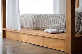 Contemporary Canopy Bed Contemporary Canopy Bed In Solid Wood By Mashstudios Captivatist