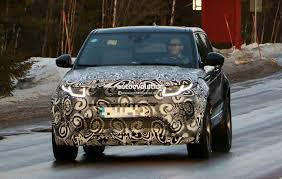 new land rover evoque all new range rover evoque ii spied for the first time as test