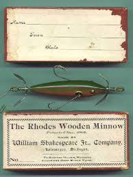 the most valuable antique fishing lures and their boxes