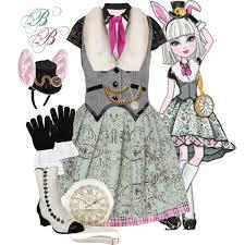 Lela Halloween Costume Bunny Blanc Polyvore