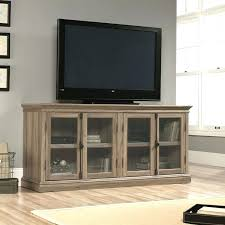 Oak Tv Cabinets With Glass Doors 80 Inch Tv Cabinet Basement Traditional Basement Oak Tv Cabinet