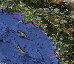 San Diego Beaches Map by California Piers Map California Map