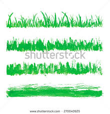 vector green watercolor natural organic bio stock vector 443188597
