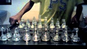 Glass Chess Boards My Glass Chess Set Review Youtube