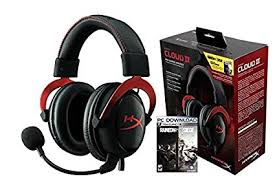 siege pc amazon com hyperx cloud ii rainbow six siege bundle gaming headset