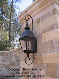 terrific gas lanterns decorating ideas for exterior traditional