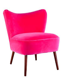 fuschia chair bartholomew vintage style cocktail chair in varese velvet