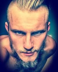 viking anglo saxon hairstyles alex ludwig rocking the viking haircut vikings pinterest