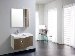 armadietto bagno con specchio mobile arredo bagno completo pensile 90cm marrone lavabo specchio