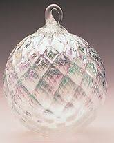 Birthstone Ornament Glass Eye Studio Lavender Fields Classic Ornament Christmas