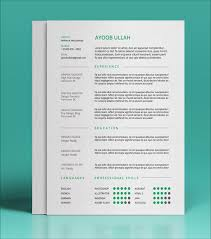 unique resume templates 10 best free resume cv templates in ai indesign psd formats