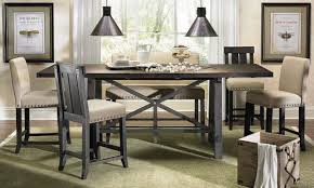 counter height dining room table with bench u2022 dining room tables