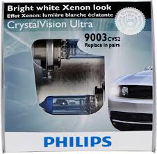 nissan pathfinder xenon bulbs philips 9003cvs2 9003 hb2 crystalvision ultra bulb 2 pack