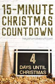 this christmas countdown craft is super easy to make and totally