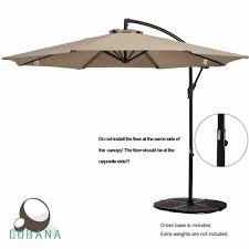 10 Ft Patio Umbrella by Best Offset Patio Umbrellas 2017 Buyer U0027s Guide October 2017