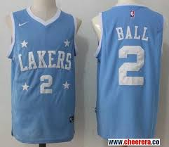 lakers light blue jersey men s los angeles lakers 2 lonzo ball light blue stars 2017 2018