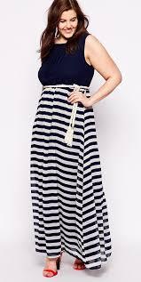 trendy cheap plus size maxi dresses online black white colored