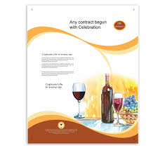 hotel brochure design templates celebrating events and entertainment hotel posters