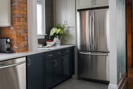 black bottom and white top kitchen cabinets mcgillivray debates the pros and cons of going light
