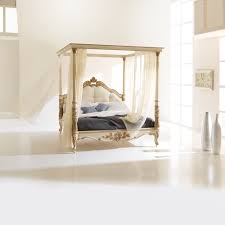 high end italian designer four poster bed juliettes interiors