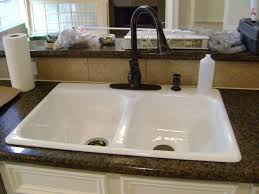 kitchen sink and faucet kitchen double kitchen sink faucets on calm countertops color and