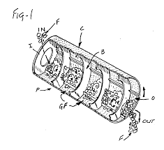 patent ep0379755a1 rotary continuous conveying oven and cooking