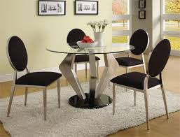 Contemporary Dining Room Chair by Modern Round Dining Room Table Stunning Decor Modern Round Kitchen