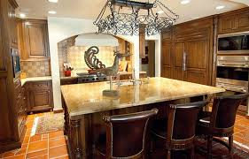 chocolate brown cabinet paint color with beige marble countertop