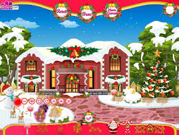 Home Design Games Agame Christmas House Decoration Free Online Games At Agame Com
