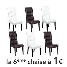 lot de 6 chaise pas cher superbe chaise cdiscount lot 6