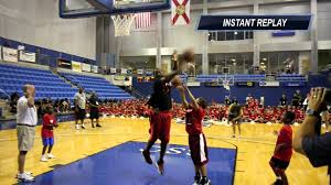 dwyane wade vs kids in knockout game at his all star basketball
