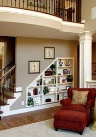 under stair storage this is useful as open shelves but could