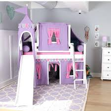 Bunk Bed With Slide And Tent Bed With Slide And Tent Coaster Loft Bed With Tent And Slide
