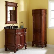 bathroom vanity with linen cabinet genersys