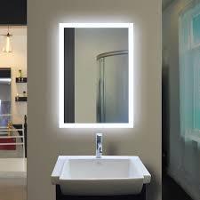Lighted Bathroom Mirrors New Backlit Bathroom Mirror Top Bathroom Backlit Bathroom