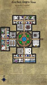 Dungeon Floor Plans by Campaign Wiki Dungeonmaps One Page Dungeon Contest