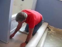 installing lay vinyl flooring