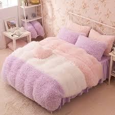 online shop flannel short plush bedding duvet cover set winter