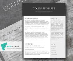Free Resume Templates For Pages Free Contemporary Resume Templates Resume Template And