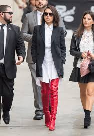 shirt shift dress white shirt dress mila kunis boots red
